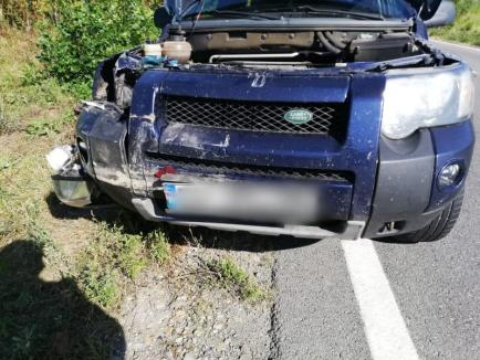 Drumul groazei: Două accidente grave pe DN 1, în Bihor, în același loc, în aceeași zi! (FOTO)