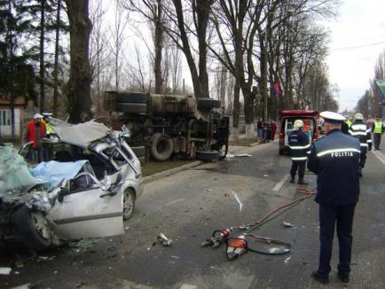 Şoferul de TIR care a omorât patru oameni pe Calea Clujului, reţinut de Poliţie, eliberat de procurori