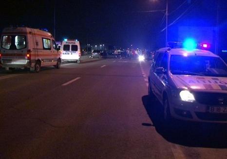 Accident lângă Miersig: Un şofer beat a buşit o maşină în trafic, şi-a abandonat autoturismul şi a fugit