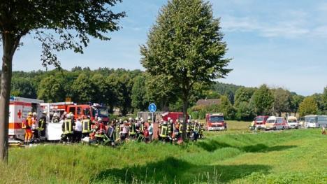 Autocar plin cu românce, răsturnat în Germania. Peste 50 de persoane rănite (FOTO)