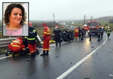 Una dintre victimele accidentului de pe DN 19, din Diosig este Delia Cormoş, psihologul Penitenciarului din Oradea