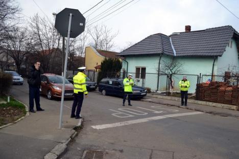 S-au 'pupat' de dimineaţă:  Tamponare la intersecţia străzilor Locomotivei cu Traian Lalescu (FOTO)