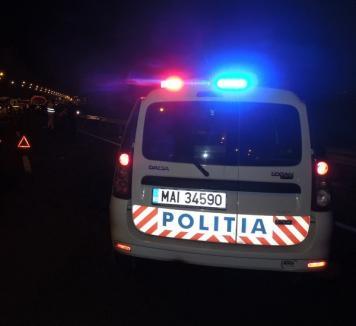 Primarul comunei Lugașu de Jos a ajuns în spital în urma unui accident provocat de un fost polițist beat la volan