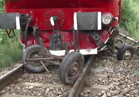 Accident mortal lângă Şilindru. Un bihorean care traversa calea ferată cu căruţa a fost zdrobit de tren