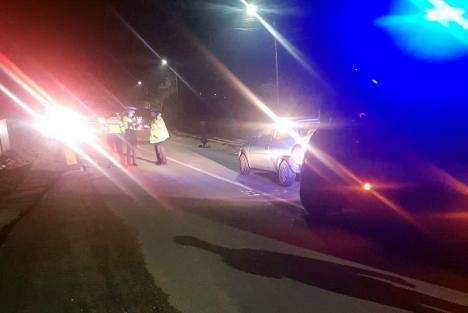 Accident pe DN76 în Bihor: Un bărbat a fost lovit de o maşină