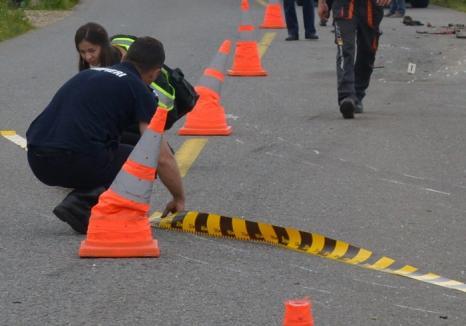 Ziua accidentelor DN19 B lângă Suplac: Un şofer a ajuns într-un cap de pod, altul a vrut să vireze şi s-a izbit frontal de o maşină