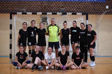 Oradea are două echipe de handbal feminin în Campionatul Național de senioare