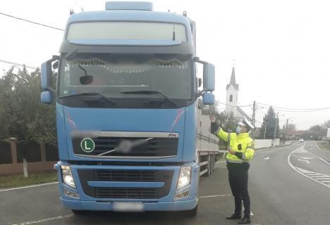 Acțiunea Truck&Bus: Maşinile de transport public de persoane şi cele de marfă, în vizorul Poliţiei