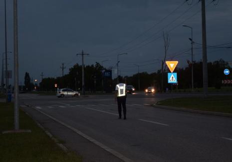 Poliţiştii bihoreni i-au invitat la cafea pe şoferi, pentru a-i ţine treji şi atenţi la volan (FOTO)
