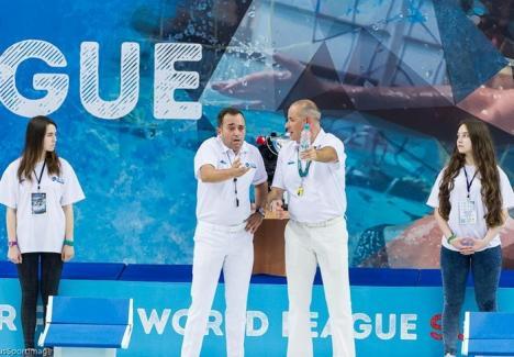 Orădeanul Adrian Alexandrescu a arbitrat finala World League la polo, câştigată de echipa Serbiei