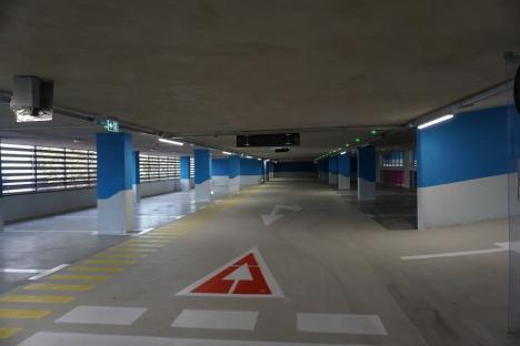 ADP Oradea: Parcarea de pe str. Braşovului, inaugurată de ziua oraşului (FOTO)