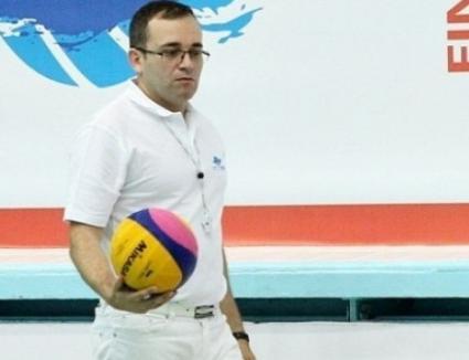 Delegare de elită: Orădeanul Adrian Alexandrescu a arbitrat finala Campionatului European de polo