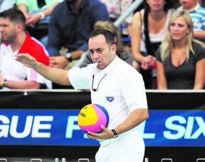 Orădeanul Adrian Alexandrescu va arbitra, din nou, la cele mai importante competiții internaționale de polo