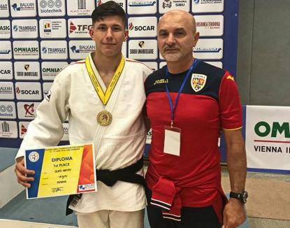 Orădeanul Adrian Olaru a cucerit medalia de bronz la Cupa Europeană de judo de la Cluj-Napoca