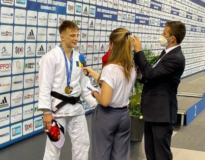 Un sportiv de la Centrul Olimpic de Judo din Oradea a devenit campion european la tineret