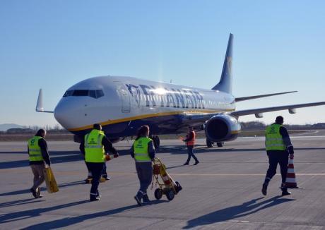 Record pe Aeroportul Oradea: Mai mulţi pasageri în primele cinci luni ale anului decât pe tot parcursul lui 2016