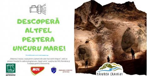 Ce faceţi duminică? La peştera Unguru Mare, din Şuncuiuş, puteţi descoperi când, cum şi de ce omul primitiv a locuit în caverne