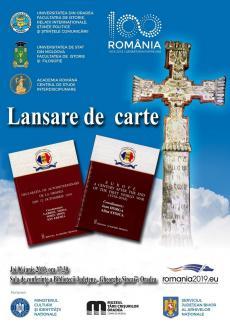 Două noi cărţi dedicate Centenarului, privind Oradea şi Europa, vor fi lansate la Biblioteca Judeţeană