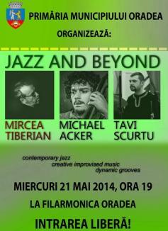 """""""Jazz and beyond"""": Mircea Tiberian concertează la Oradea"""