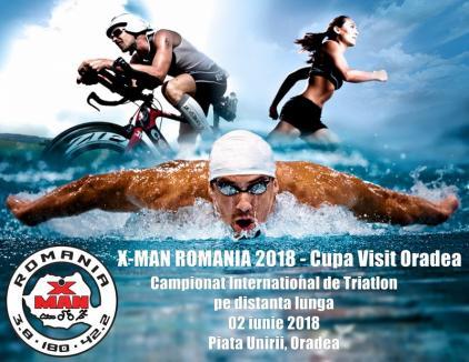 Urmează Cupa Visit Oradea X-Man, cel mai important eveniment din calendarul triatlonului românesc