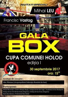 Francisc Vaştag vine sâmbătă la Cupa comunei Holod la box