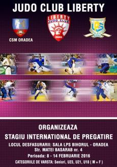 Sala LPS Bihorul va găzdui un nou stagiu internaţional de judo