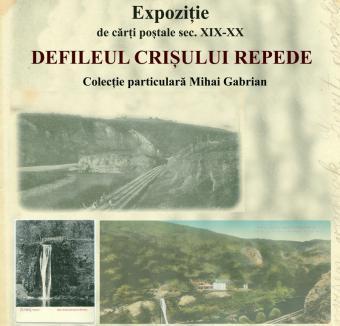 Inedit: Expoziţie de cărţi poştale, din secolul 19, cu imagini din defileului Crişului Repede, la Muzeul oraşului Oradea