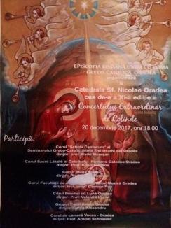 Concert extraordinar de colinde la Catedrala Greco-Catolică