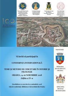 """Istorici din România, Republica Moldova și Italia se întâlnesc în Oradea pentru a dezbate """"Teme și metode de cercetare"""""""