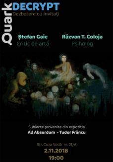 Expoziția 'Decrypt', a pictorului orădean Tudor Frâncu, intră în... dezbatere