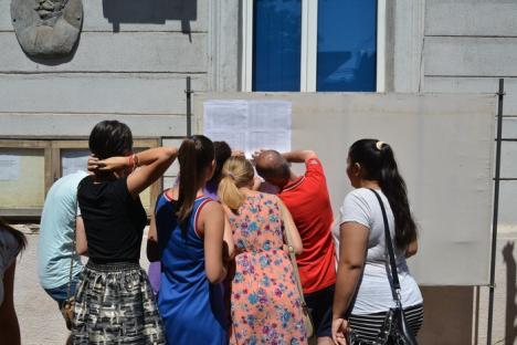Jale la Bac: Aproape jumătate dintre elevii bihoreni au picat examenul, o singură elevă are media 10 (FOTO)