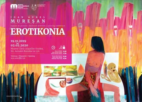 'Erotikonia': Expoziţie despre 'foamea de iubire' la Oradea