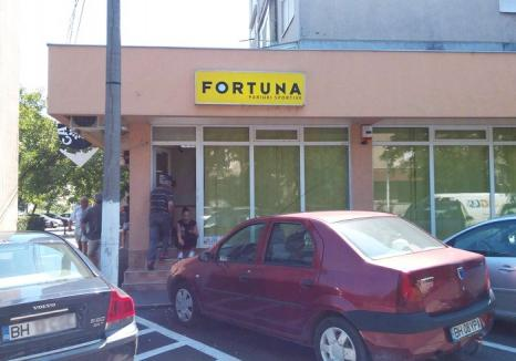Spargere la agenția de pariuri sportive Fortuna din Ioșia!