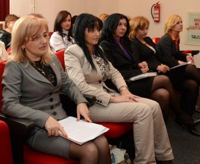 Adelina Coste, şefă fără concurenţă peste colegele din PDL Bihor (FOTO)
