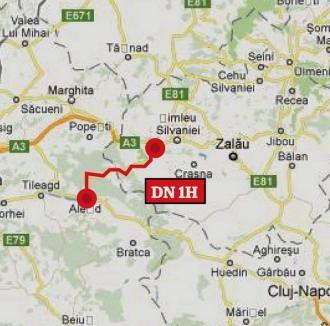 Reabilitarea drumului dintre Aleşd şi Nuşfalău mai mult îi încurcă pe localnici!
