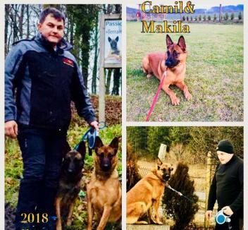 Un orădean şi câinele său, la campionatul de Mondioring din Franţa