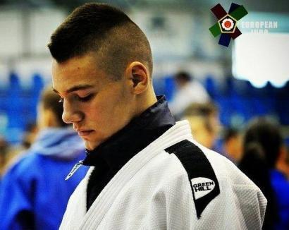 Orădeanul Alex George Creţ s-a clasat pe locul V la puternicul turneu de judo de la Zagreb