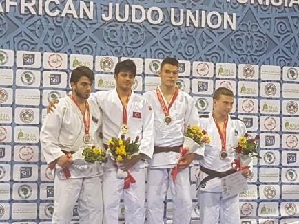 Rezultate bune pentru tinerii judoka orădeni la turneele internaţionale din ultimele zile