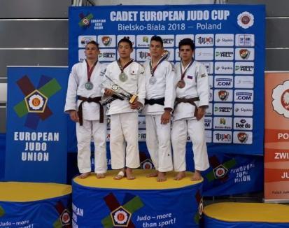 Alex George Creț a cucerit bronzul la Cupa Europeană de Judo pentru Cadeți din Polonia