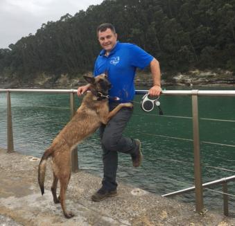 Orădeanul Alexandru Bondar și cățelușa Dilara, la Mondioring World 2017, cel mai mare eveniment de întreceri canine din lume