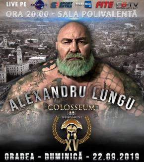 Alexandru Lungu şi Adrian Maxim luptă la Oradea, în Gala Colosseum