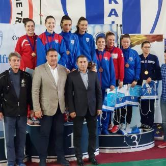 Bianca Benea s-a clasat pe locul VI la Trofeul Internaţional de Spadă pentru seniori 'Alfredo Bachelli'