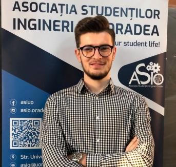 Studenţii orădeni au un nou preşedinte: Alin Cîndea, viitor inginer în telecomunicaţii