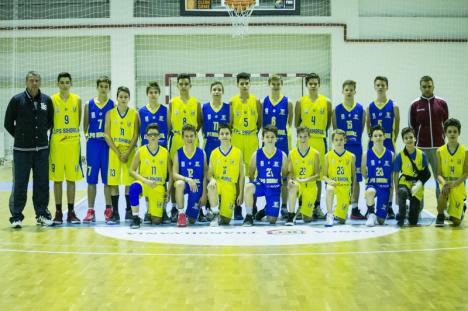 Baschetbaliştii de la LPS CSM Oradea s-au calificat la turneul final al Campionatului Naţional U14