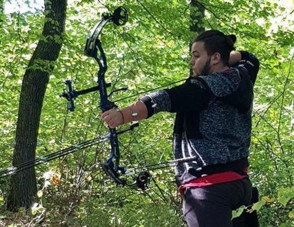 Arcaşul orădean Alin Mureşan a devenit vicecampion naţional la field