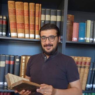 Cititor de trecut: Orădeanul Alin Suciu, printre puținii cercetători din lume care studiază limba faraonilor egipteni (FOTO)