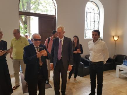 De faţă cu ambasadorul SUA, primarul Bolojan a anunţat un nou proiect: Piaţa Concordiei, cu o sinagogă, o biserică ortodoxă şi una reformată (FOTO)