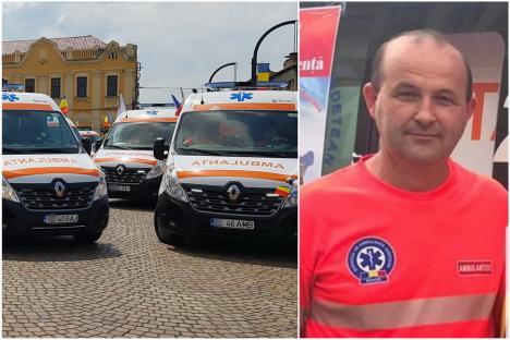 Un al doilea angajat al Ambulanței Bihor a murit de Covid în chinuri, după ce a refuzat vaccinarea, cum au făcut două treimi din colegii săi