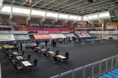 Prefectura Bihor a încheiat pregătirile pentru alegeri. În premieră, predarea buletinelor de vot se va face la Sala Sporturilor