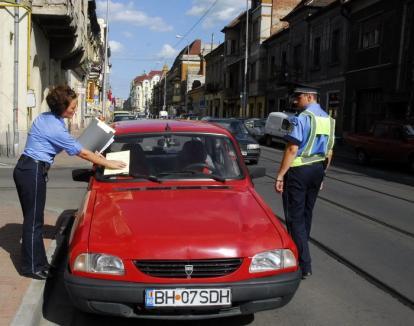 Deci, se poate! Consiliul Local a redus la 45 lei nivelul minim al amenzii pentru parcarea fără plata taxei